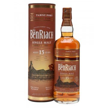 BenRiach 15 Years Speyside Single Malt Scotch Whisky Portwood Finish